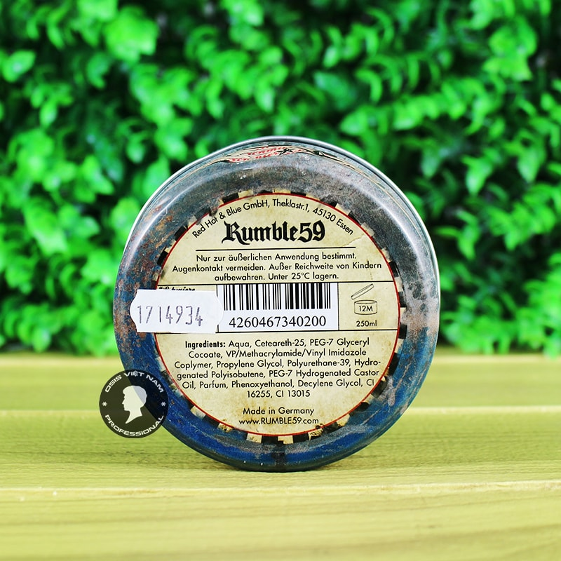 schmiere-water based pomade strong